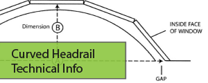 Curved Headrail Tech Info